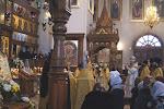 Божественную Литургию возглавил архиепископ Святогорский Арсений.JPG