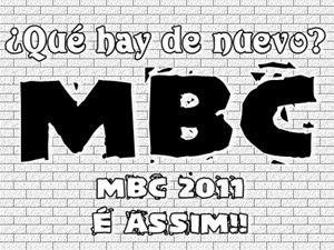 ASSINATURA MBC ESPECIAL 2011 2012