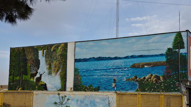 Picturi murale.