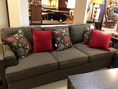 Now We Have Some Thinking To Do And Some Numbers To Crunch, And Decisions  To Make. Do We Order This Couch In A Different Fabric?
