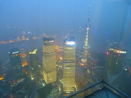 Obiective turistice Shanghai: Panorama din Jin Mao