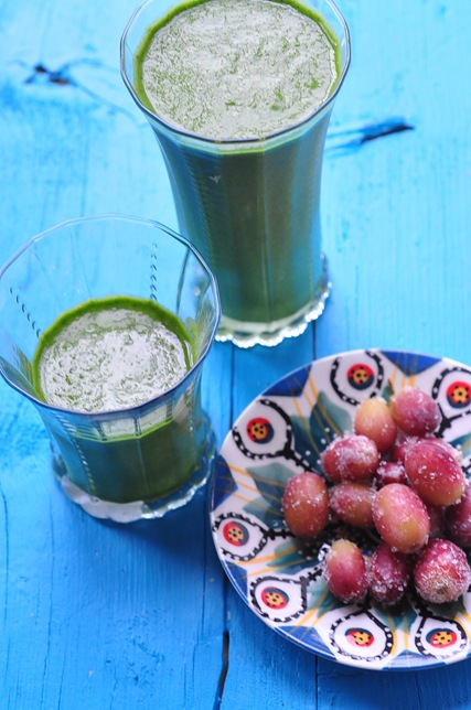 grape kale smoothie