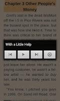Screenshot of FBReader TTS Plugin