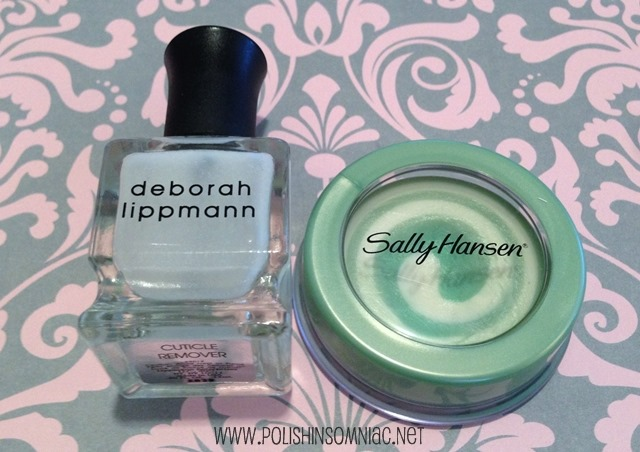 Cuticle Softeners - Use the Deborah Lippmann once/week and the Sally Hansen daily