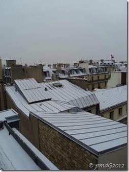 Paris, la neige