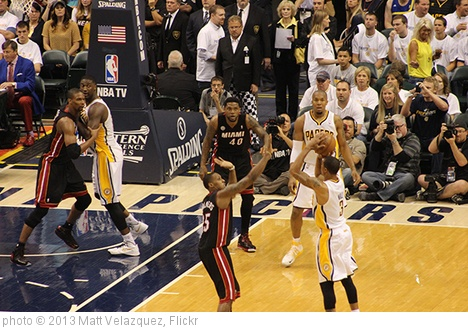 'Miami Heat 114, Indiana Pacers 96' photo (c) 2013, Matt Velazquez - license: http://creativecommons.org/licenses/by-nd/2.0/