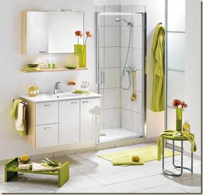 decoración moderna para baños grandes-e