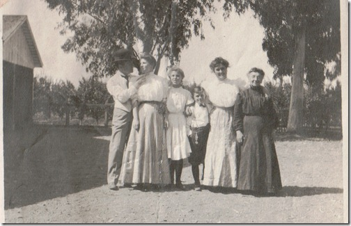 Family - Fannie on right