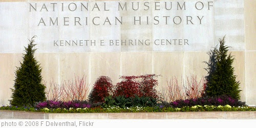 'Smithsonian National Museum of American History' photo (c) 2008, F Delventhal - license: https://creativecommons.org/licenses/by/2.0/