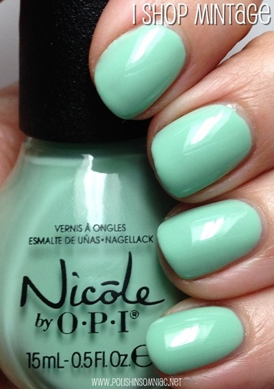 Nicole by OPI I Shop Mintage