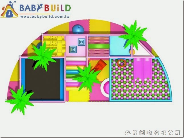 BabyBuild 室內3D兒童遊戲室設計規劃