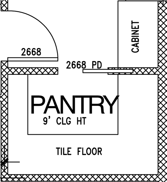 Pantry Layout