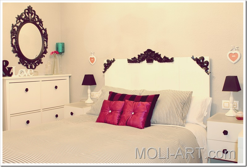 dormitorio-decoración-blanco-y-negro-barroco