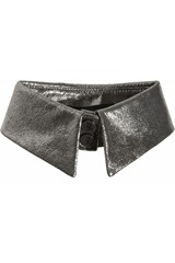 Karl Cracked-leather collar