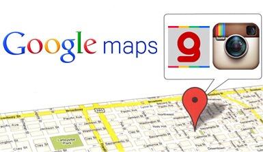 Pesquise fotos do Instagram no Google Mapas com Gramfeed