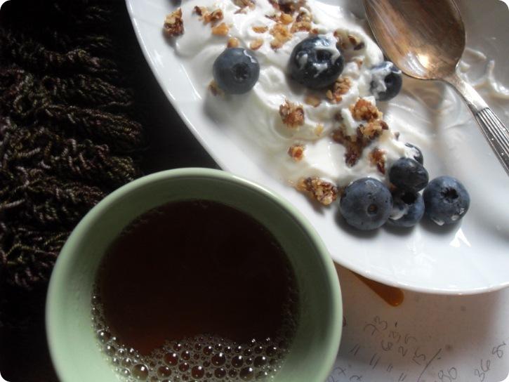 Langsom og stille morgenmad