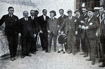 1920-03-19 Llegada a Cadiz paridarios y amigos
