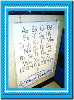 Chart Paper Storage