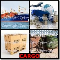 CARGO- 4 Pics 1 Word Answers 3 Letters