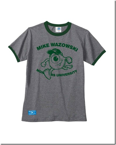 Monster University X Giordano - Grey Tee shirt  Women