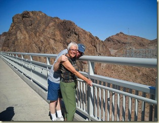 Dick and Rockey hoover dam