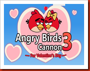 Angry Birds Cannon 3 Valentine Day