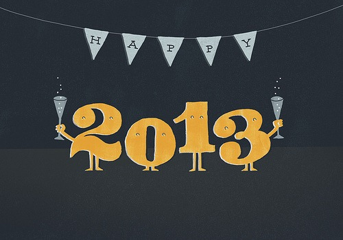Happy 2013! by evalottchen, on Flickr [used under Creative Commons license]