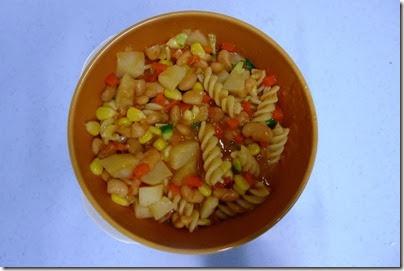 baked bean pasta