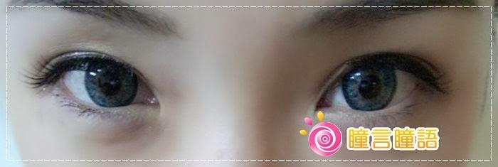 韓國GEO隱形眼鏡-GEO Sparkling 火花四色藍11