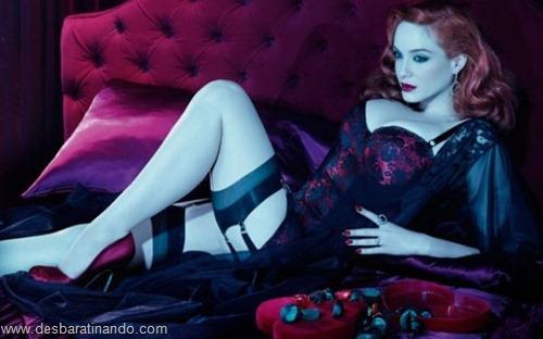 Christina Hendricks linda sensual sexy sedutora decote peito desbaratinando (36)