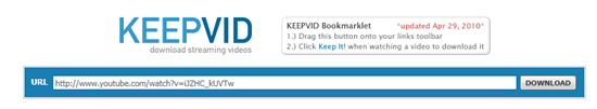 KeepVid-Video-Link-Submission