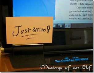 Just Write Sticky Note