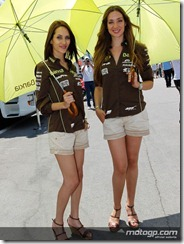 Paddock Girls Gran Premi Aperol de Catalunya  03 June  2012 Circuit de Catalunya  Catalunya (21)