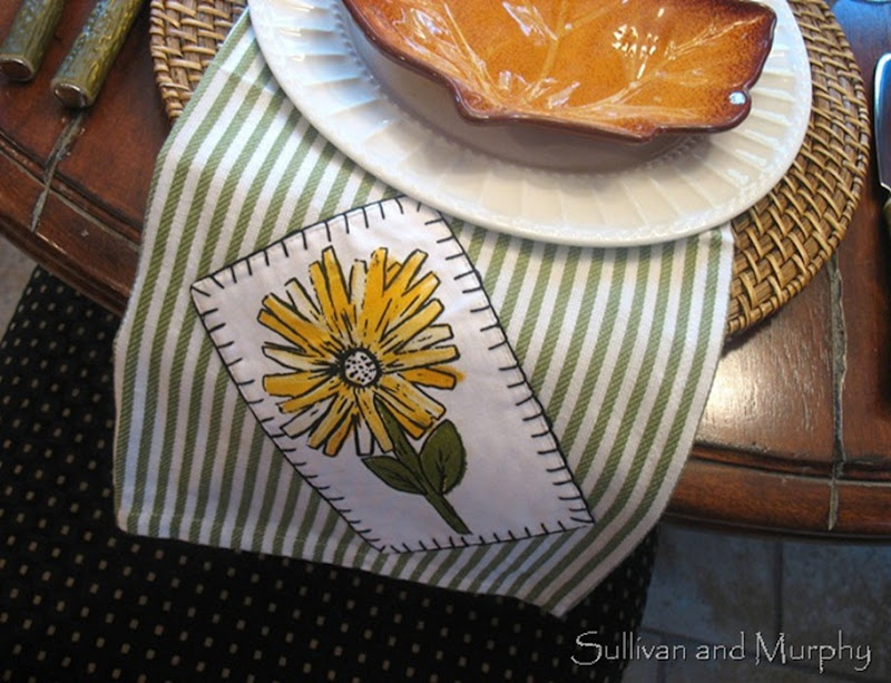 sunflower napkin[2]