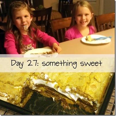 Day 27 something sweet
