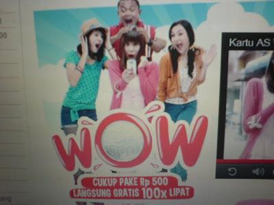 download video iklan kartu as terbaru 2012 promo kartu as wow gratis 100x lipat