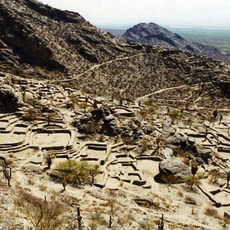 Las ruinas de Quilmes en los Valles Calchaquíes.