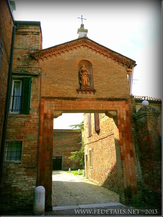 Monastero S. Antonio in Polesine , foto2,Ferrara,Emilia Romagna,Italia - Monastery of St. Antonio in Polesine, photo 2, Ferrara, Emilia Romagna, Italy - Property and Copyrights of FEdetails.net