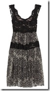 Dolce & Gabbana silk and lace dress