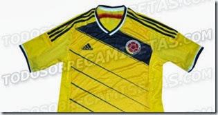 camiseta seleccion colombia brasil 2014