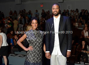 Tyson Chandler and Kimberly Chandler