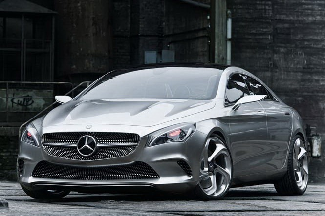 Mercedes Benz Concept Style Coupe First Photos Of Sexy Looking