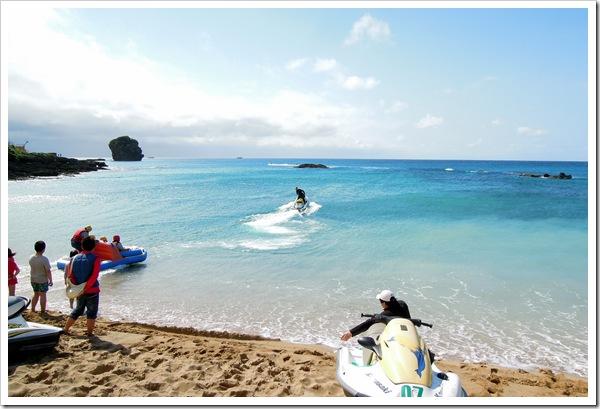 帆船石沙灘