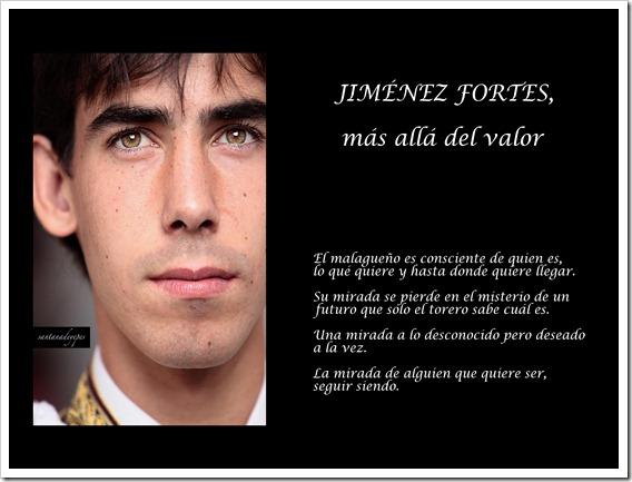 JIMENEZ FORTES MÁS ALLA DEL VALOR