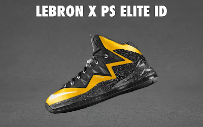 nike lebron 10 ps elite id options preview 1 17 NIKE LEBRON X PS ELITE Coming to Nike iD on April 23rd