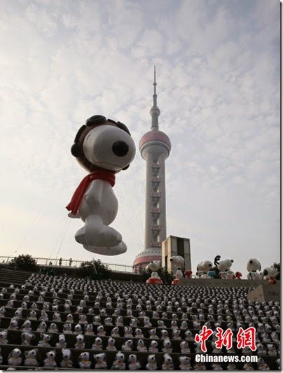 Snoopy at Pearl Square , IFC Mall, LuJiaZui, Shanghai 史努比。上海 04