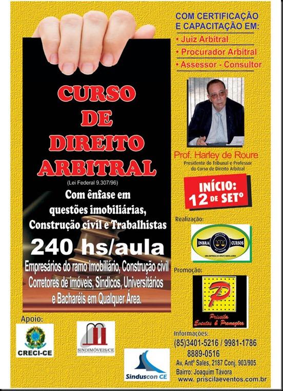 CARTAZ JUIZ ARBITRAL FORTALEZA