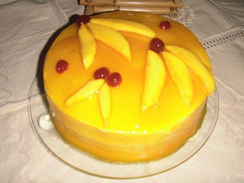 Maria José Randazzo P.: Torta de mango (postre de autor)