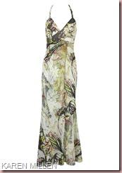 Karen-Millen-Floral-Print-Formal-Maxi-Dresses