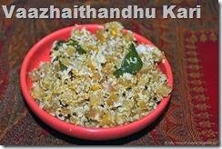 Vaazhaithandhu Kari